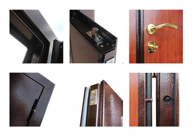 стальные двухстворчатые двери в москве